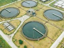 食品级阳离子聚丙烯酰胺-城市中的污水处理厂