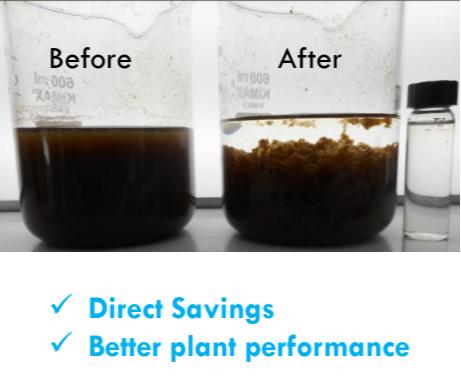 絮凝剂处理效果图-进口絮凝剂-进口聚丙烯酰胺